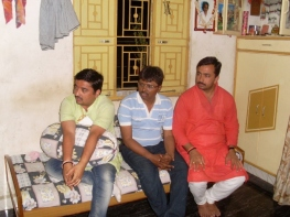 Pradipsinhji and Dhaval Dave